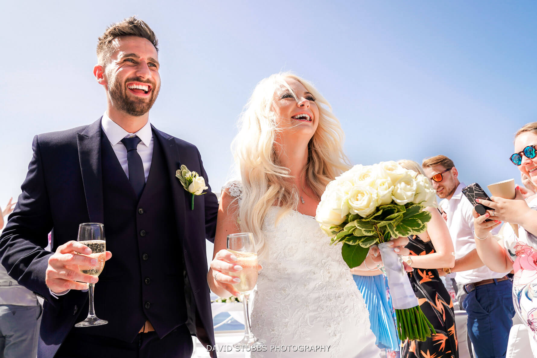Ceremony - Luxury Wedding Terrace - Santorini Gem