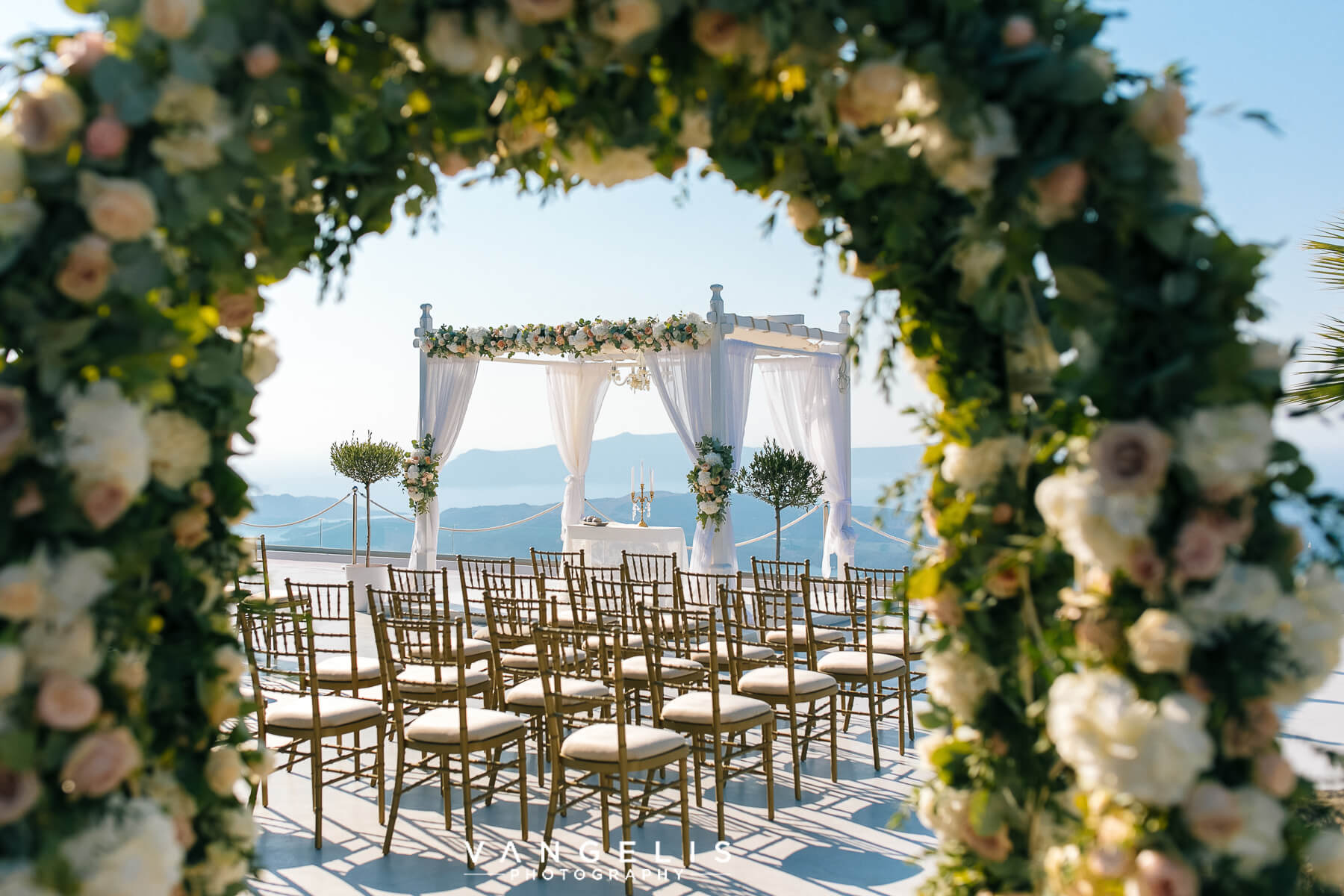 The Ceremony - Santorini Gem