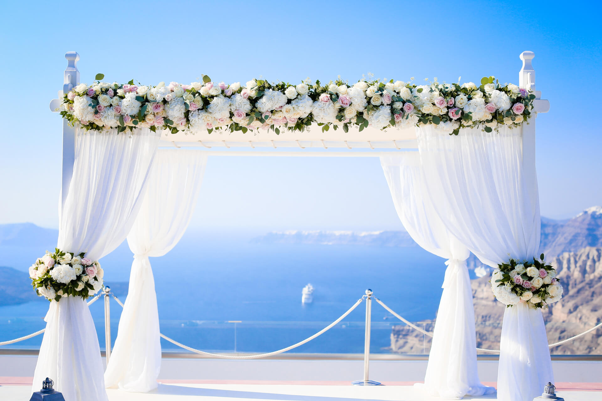 Wedding Stories - Caldera View - Santorini Gem