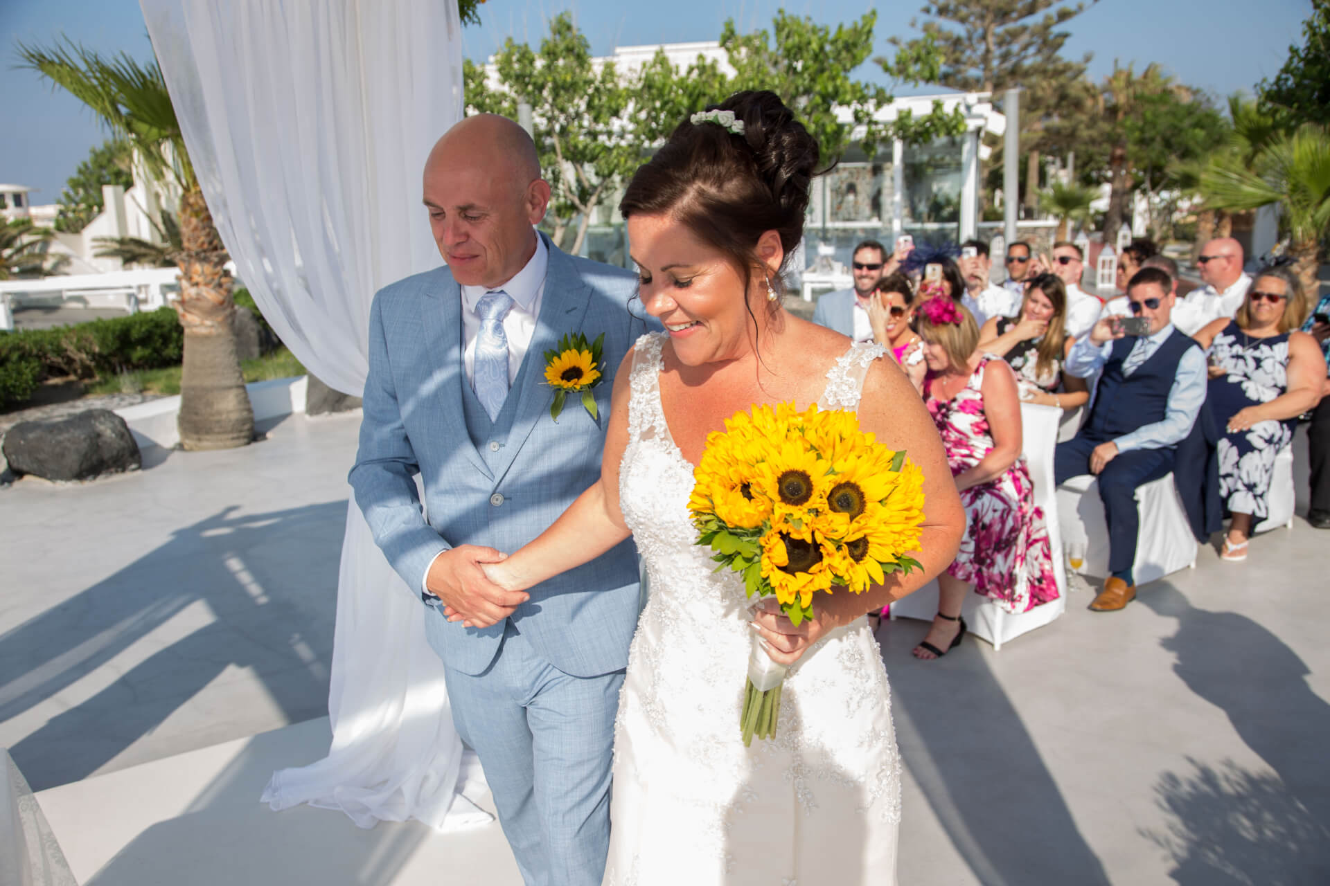 Real Wedding Stories - Caldera - Santorini Gem