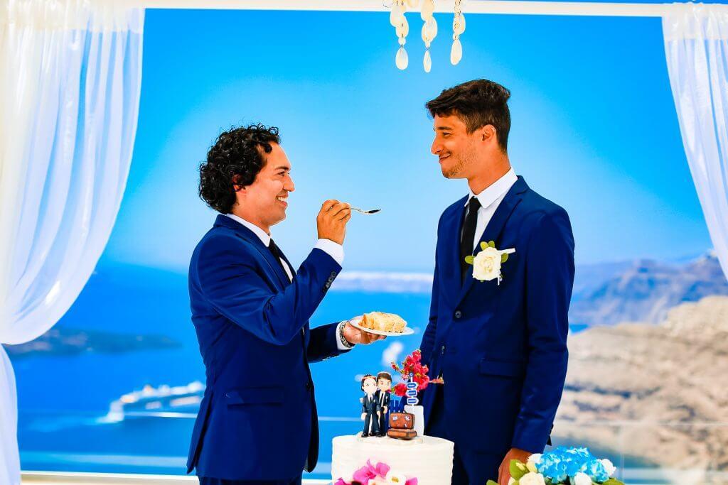 Real Couples - Wedding Villa in Caldera - Santorini Gem