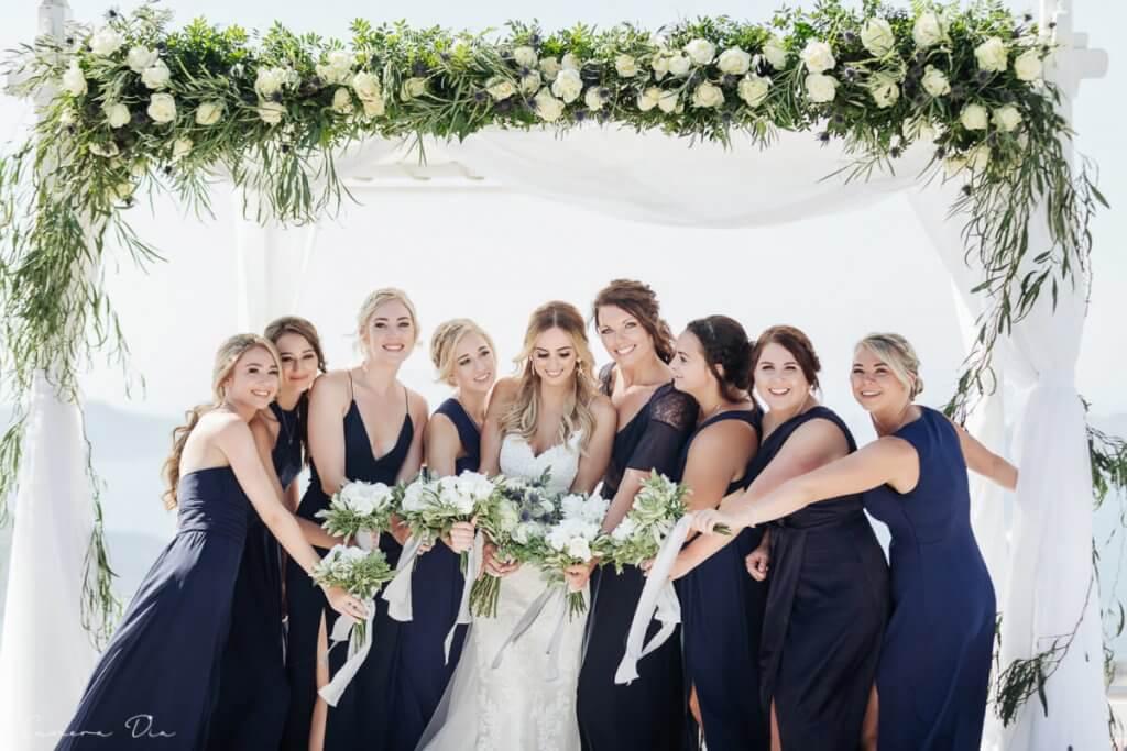 Santorini Wedding - Ceremony - Santorini Gem