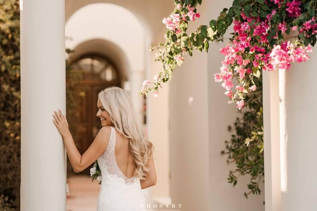 Santorini Wedding - Wedding Photoshoot - Santorini Gem