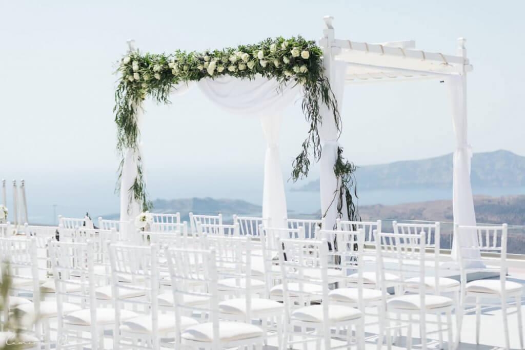 Santorini Wedding - Wedding Venue - Santorini Gem