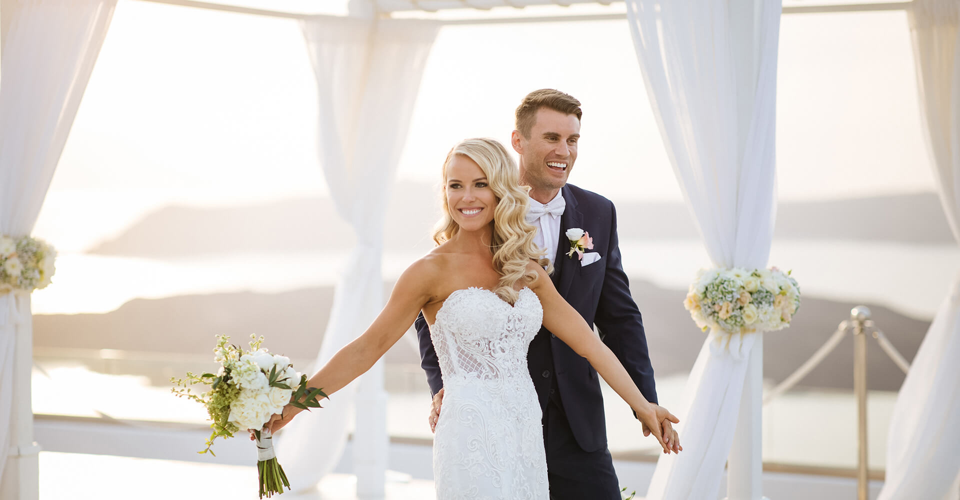 Caldera Ceremony - Wedding Venue - Santorini Gem