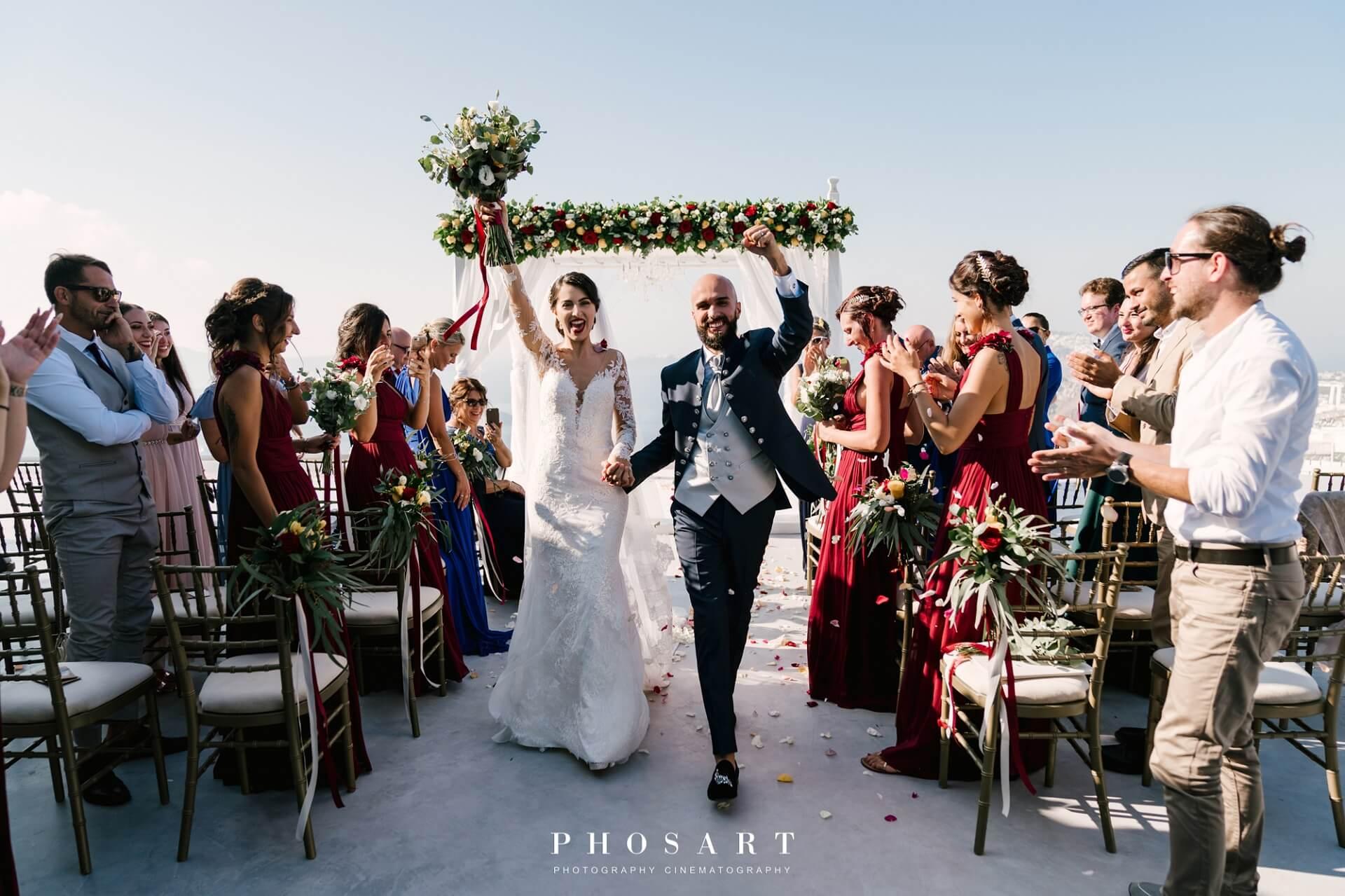 Santorini Wedding - Gem Wedding Venue