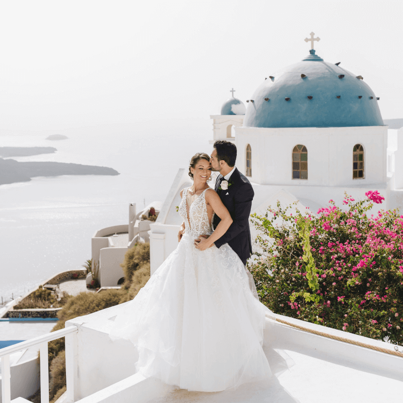 Plan your Wedding in Santorini - Santorini Gem