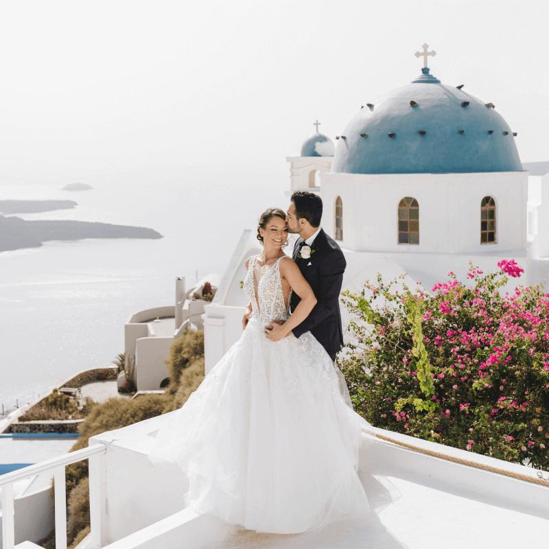 Plan your Wedding in Santorini - Santorini Gem