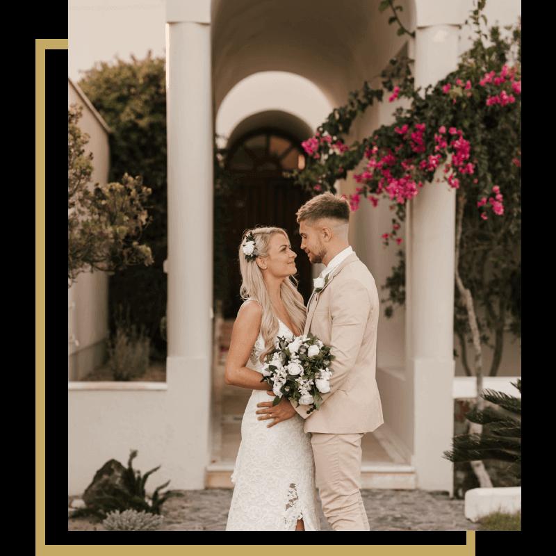 Santorini Wedding Ceremony and Reception - Wedding Planning - Santorini Gem