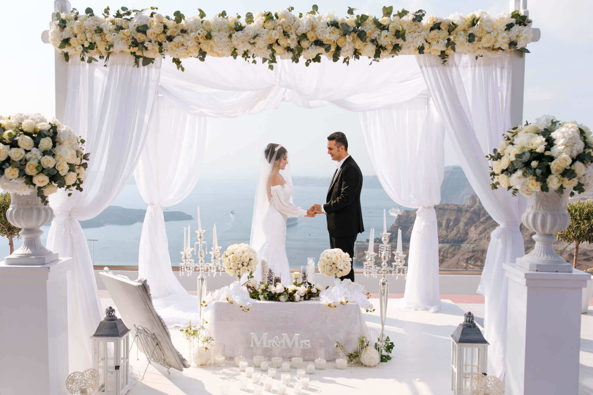 Best Time of the Year to Get Married in Santorini - Santorini Gem